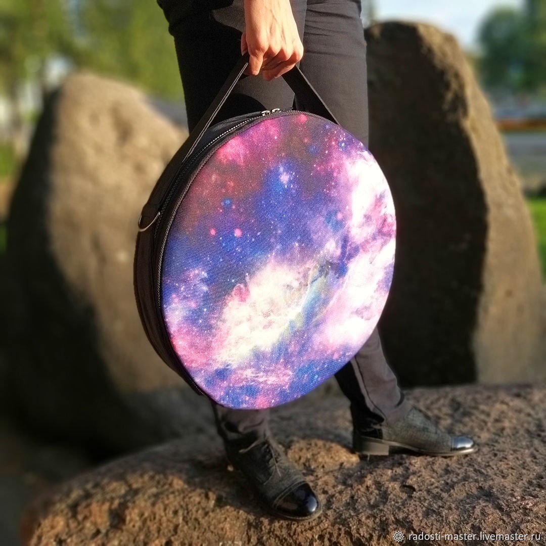 Bag-tablet: Space. For a Board with Sadhu nails, Tablet bag, Pskov,  Фото №1