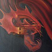 Картины и панно ручной работы. Ярмарка Мастеров - ручная работа Охранник дома. Handmade.