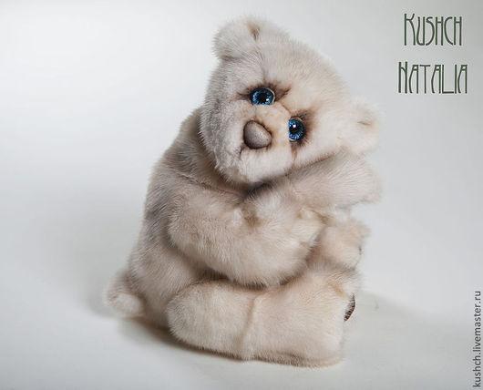 Мишки Тедди ручной работы. Ярмарка Мастеров - ручная работа. Купить Макс, мишка из норки. Handmade. Мишка, мишка в подарок
