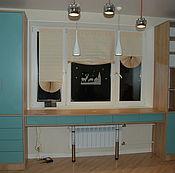 Для дома и интерьера ручной работы. Ярмарка Мастеров - ручная работа Рабочее место у окна на заказ. Handmade.