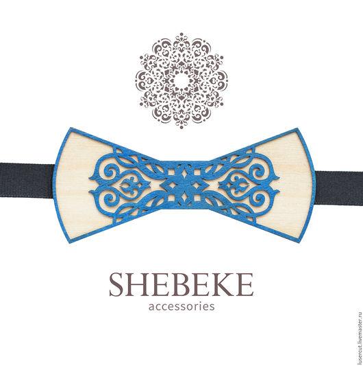 Персональные подарки ручной работы. Ярмарка Мастеров - ручная работа. Купить Мужской аксессуар - галстук-бабочка. Handmade. Комбинированный, шпон
