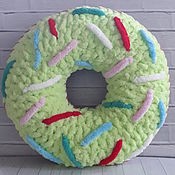 """Подушки ручной работы. Ярмарка Мастеров - ручная работа Детская подушка """"Пончик"""". Handmade."""