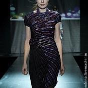 Одежда ручной работы. Ярмарка Мастеров - ручная работа Платье асимметричное. Handmade.