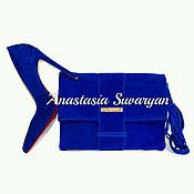 Обувь ручной работы handmade. Livemaster - original item the set (shoes and clutch) Turquoise. Handmade.