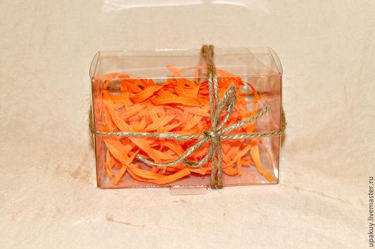 Упаковка ручной работы. Ярмарка Мастеров - ручная работа. Купить Прозрачная коробочка №14. Handmade. Белый, прозрачная упаковка