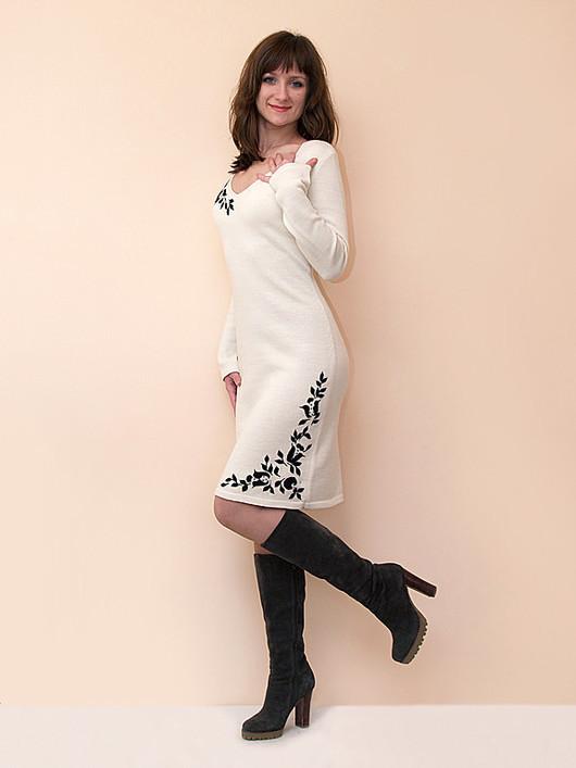Платья ручной работы. Ярмарка Мастеров - ручная работа. Купить Платье с вышивкой 4215. Handmade. Платье, нарядное платье