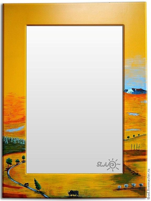Зеркало настенное Пустыня, Зеркала, Новосибирск,  Фото №1