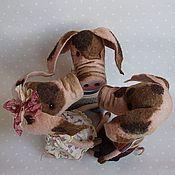 """Куклы и игрушки ручной работы. Ярмарка Мастеров - ручная работа """"Ну это просто свинство какое-то..."""" Свинки валяные из шерсти. Handmade."""