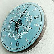 handmade. Livemaster - original item Watch blue ornament. Handmade.