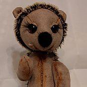 Куклы и игрушки ручной работы. Ярмарка Мастеров - ручная работа Ежик Друзья Тедди. Handmade.