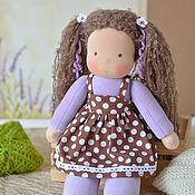 Куклы и игрушки ручной работы. Ярмарка Мастеров - ручная работа Вальдорфская кукла Ксюша, 34 см. Handmade.