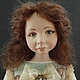 """Коллекционные куклы ручной работы. Ярмарка Мастеров - ручная работа. Купить """"Агата"""". Handmade. Голубой, ЛивингДолл"""