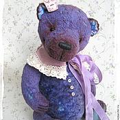 Куклы и игрушки ручной работы. Ярмарка Мастеров - ручная работа Маленький принц Лавандового королевства - коллекционный плюшевый мишка. Handmade.