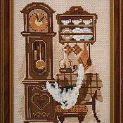 Картины и панно ручной работы. Ярмарка Мастеров - ручная работа Кухонный интерьер с кошкой. Handmade.