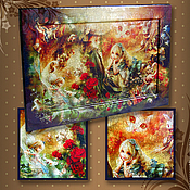 Картины и панно handmade. Livemaster - original item Picture - panel