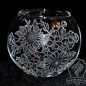Для дома и интерьера handmade. Livemaster - original item Sunflowers. Vase.. Handmade.
