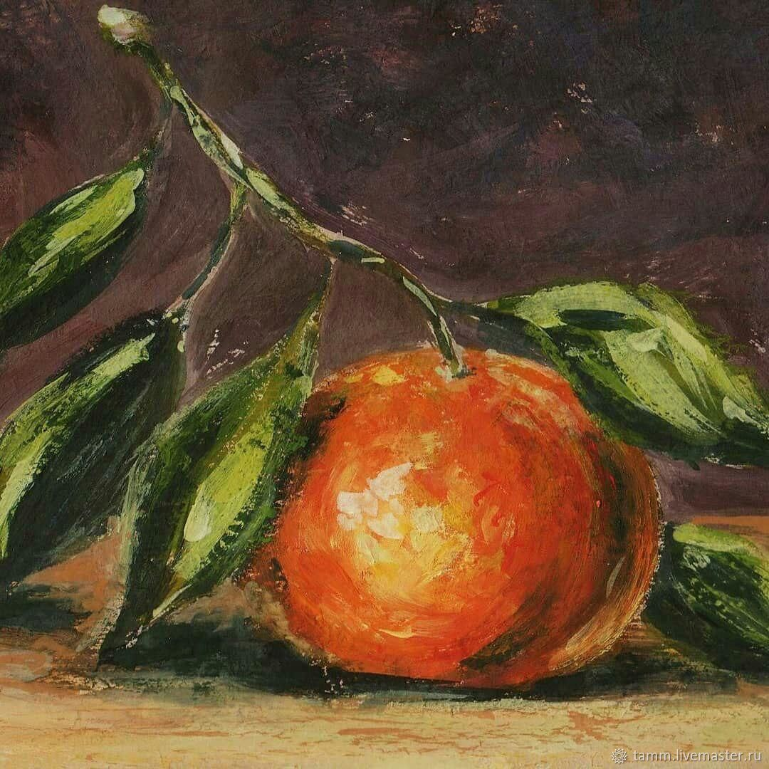 The picture the Mandarin, gouache, Pictures, Tver,  Фото №1