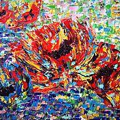 Картины и панно ручной работы. Ярмарка Мастеров - ручная работа Пиксельмаки. Handmade.