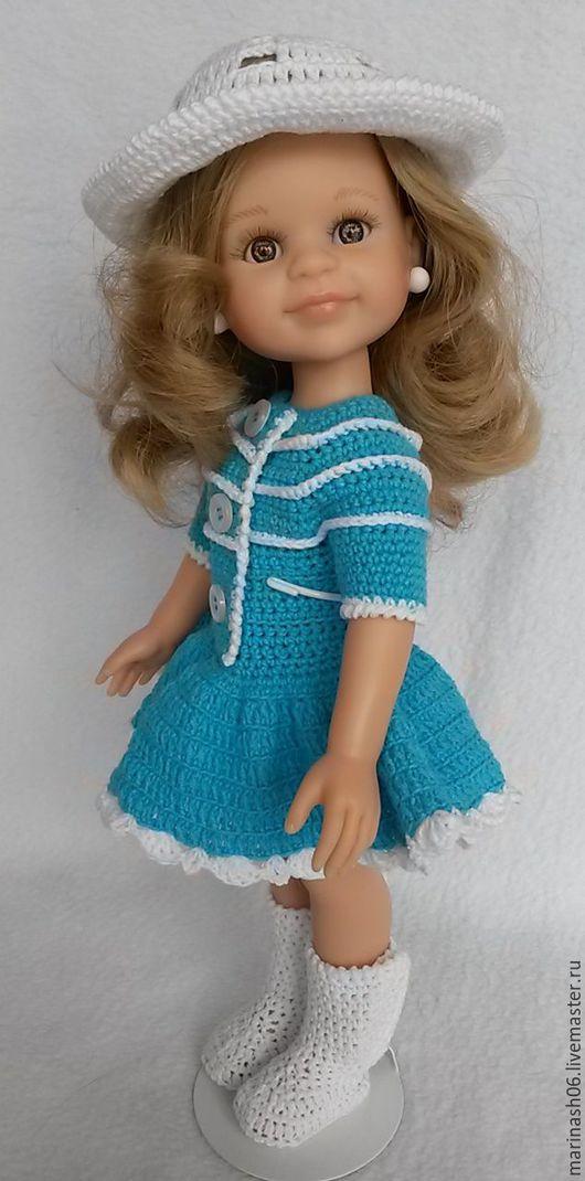 """Одежда для кукол ручной работы. Ярмарка Мастеров - ручная работа. Купить Комплектик """"Бирюза"""" 2 (для куколки Paola Reina). Handmade."""
