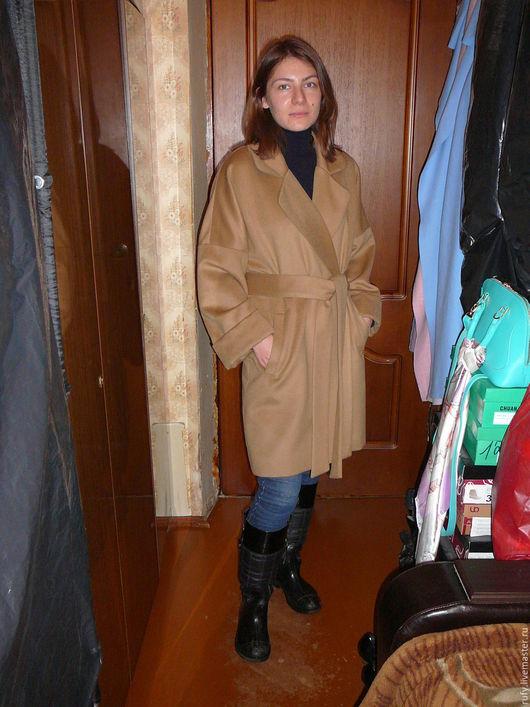 Верхняя одежда ручной работы. Ярмарка Мастеров - ручная работа. Купить Пальто-халат (тренд сезона). Handmade. Комбинированный