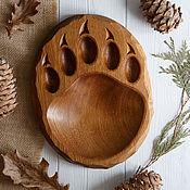 Посуда handmade. Livemaster - original item Oak Board for the filing of