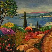 Картины и панно ручной работы. Ярмарка Мастеров - ручная работа средиземноморское лето. Handmade.