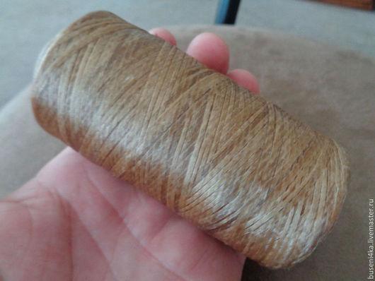 Для украшений ручной работы. Ярмарка Мастеров - ручная работа. Купить Шнур из сухожилий 1мм светлый (1 метр). Handmade.