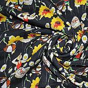 """Ткани ручной работы. Ярмарка Мастеров - ручная работа Крепдешин шелковый """"Dolce&Gabbana"""". Handmade."""