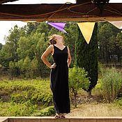 Одежда ручной работы. Ярмарка Мастеров - ручная работа Любимое черное платье. Handmade.