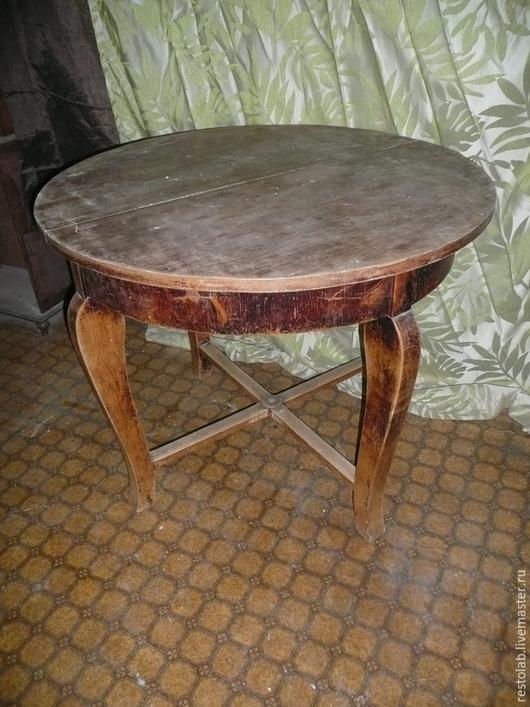 Реставрация. Ярмарка Мастеров - ручная работа. Купить Реставрация старого раздвижного стола.. Handmade. Коричневый, шпон, винтажный стол