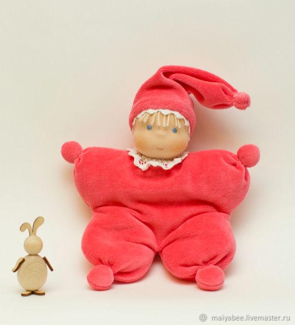 Komforter custom made for Svetlana, 30 cm, Waldorf Dolls & Animals, Moscow,  Фото №1
