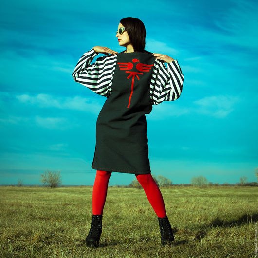 Платья ручной работы. Ярмарка Мастеров - ручная работа. Купить Платье Stripes S. Handmade. Платье, полосатое платье