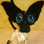 Куклы и игрушки handmade. Livemaster - original item Sphinx bald cat Siamese gray color. Handmade.