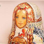Подарки к праздникам ручной работы. Ярмарка Мастеров - ручная работа Неваляшка Снегурочка. Handmade.
