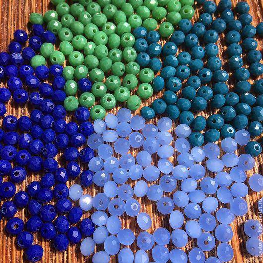 Два верхних слева направо - зеленый, млечно-синий Два нижних - темно-синий, небесно-голубой
