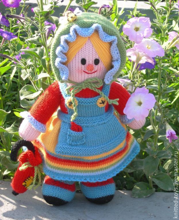 Вязаная кукла Марфуша, Игрушки, Липецк, Фото №1