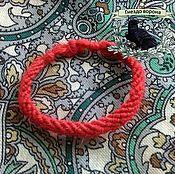 Фен-шуй и эзотерика ручной работы. Ярмарка Мастеров - ручная работа Защитный браслет из красной нити.. Handmade.