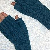 Аксессуары handmade. Livemaster - original item mitts, knitted. Handmade.