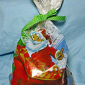 Материалы для творчества ручной работы. Ярмарка Мастеров - ручная работа пакет новогодний. Handmade.