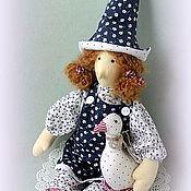Куклы и игрушки ручной работы. Ярмарка Мастеров - ручная работа Тильда птичница (добрая ведьма). Handmade.
