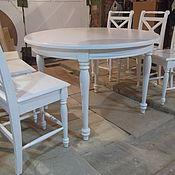 Для дома и интерьера ручной работы. Ярмарка Мастеров - ручная работа кухонный стол со стульями в стиле прованс. Handmade.