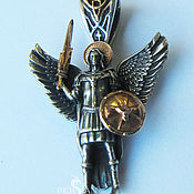 Украшения handmade. Livemaster - original item Suspension Archangel Michael. Handmade.