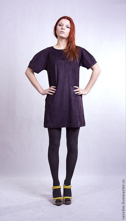 Платья ручной работы. Ярмарка Мастеров - ручная работа. Купить Платье violet. Handmade. Тёмно-фиолетовый, повседневное, красота, платье