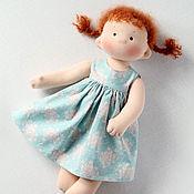Куклы и игрушки ручной работы. Ярмарка Мастеров - ручная работа Татошка, игровая текстильная кукла. Handmade.