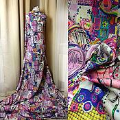 Материалы для творчества ручной работы. Ярмарка Мастеров - ручная работа - 25% от цены ! Ткань костюмно-плательная с эластаном. Handmade.
