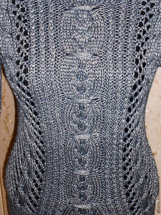 Кофты и свитера ручной работы. Ярмарка Мастеров - ручная работа. Купить Джемпер вязаный Серебро. Handmade. Джемпер, ажурный джемпер