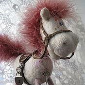 Куклы и игрушки ручной работы. Ярмарка Мастеров - ручная работа лошадка Люся. Handmade.