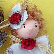 Куклы и игрушки ручной работы. Ярмарка Мастеров - ручная работа Куколки-подвески. Handmade.