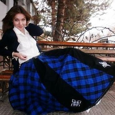 """Одежда ручной работы. Ярмарка Мастеров - ручная работа PO-NEW-A - Понёва """"ОЧАРОВАШКА"""" юбка длинная. Handmade."""