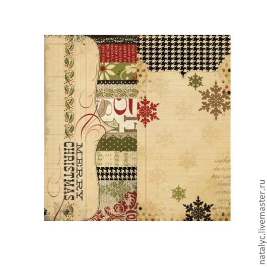 Открытки и скрапбукинг ручной работы. Ярмарка Мастеров - ручная работа. Купить Бумага 25 Days of Christmas Page elements. Handmade.